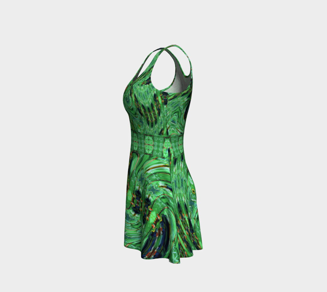 Kansas Green Tornado Dress preview #2