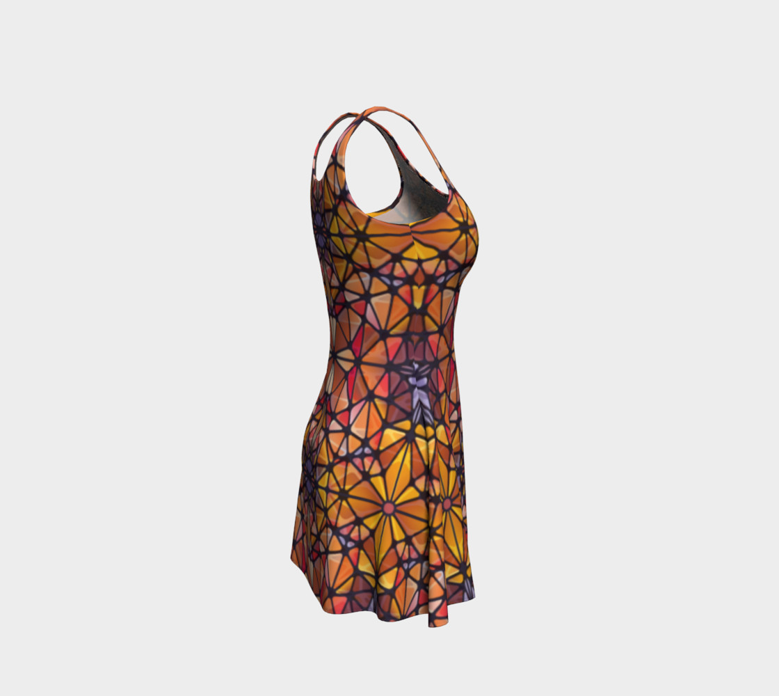 Amber Kaleidoscope Flare Dress preview #4