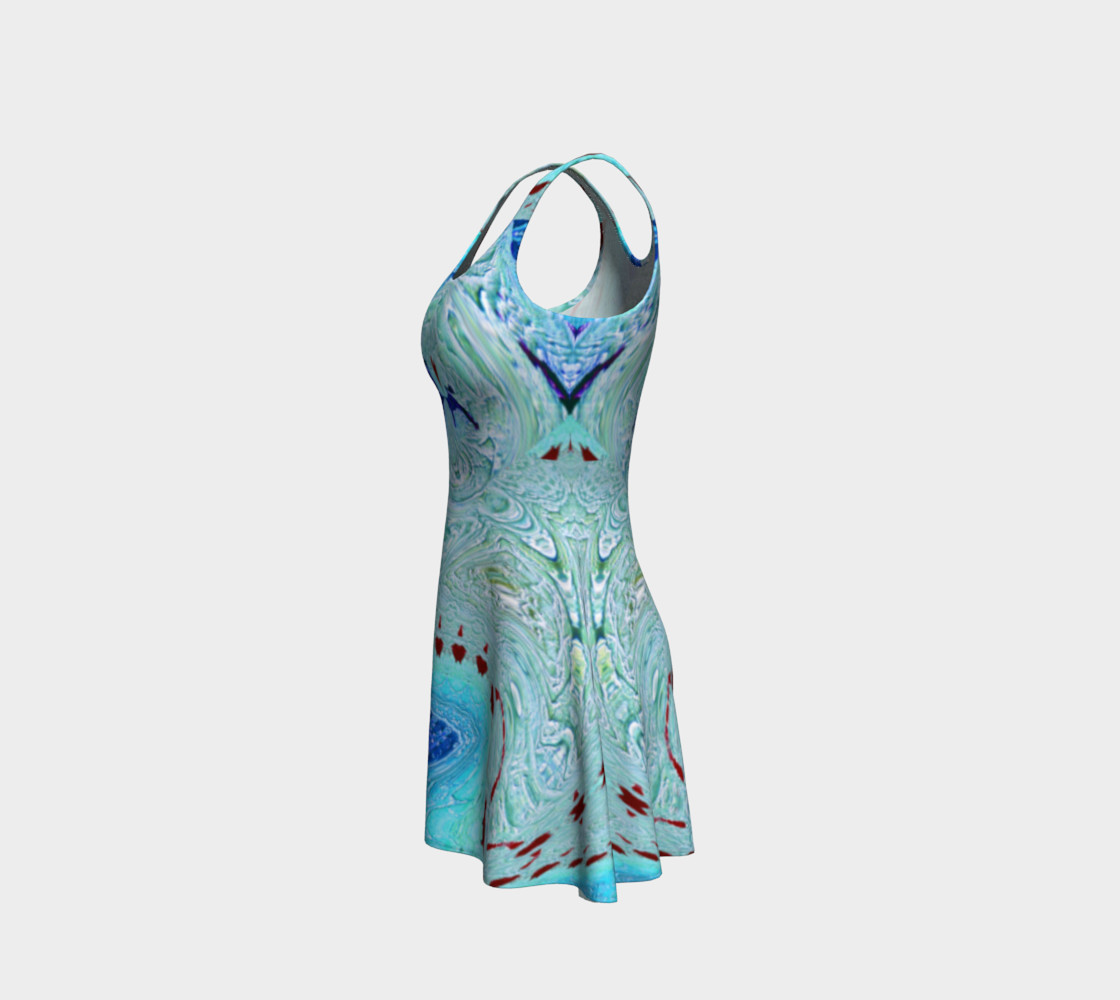 Aperçu de Ice Age Snowy-Hearts Flare Dress #2