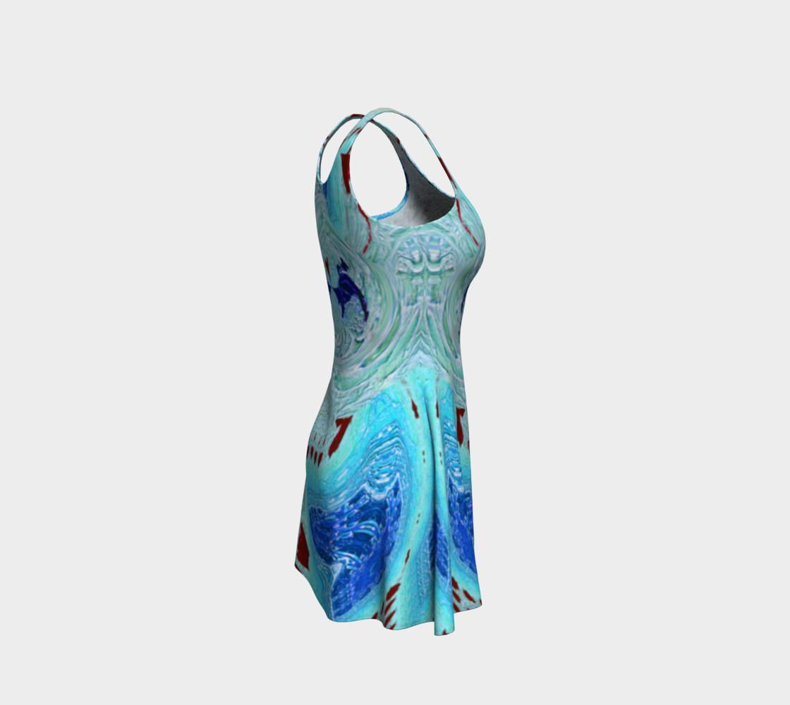 Aperçu de Ice Age Snowy-Hearts Flare Dress #4