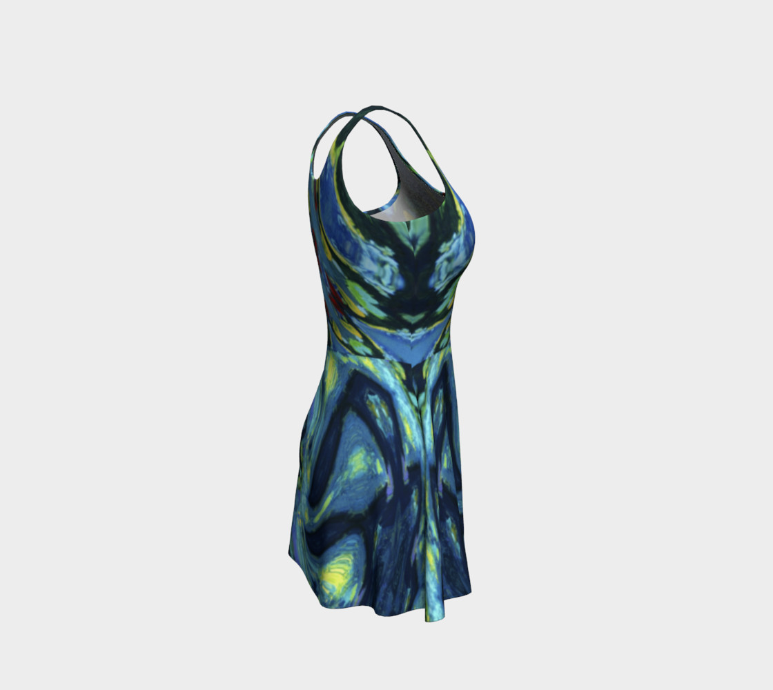 Lady Nighthawk Vine Storm Flare Dress thumbnail #5