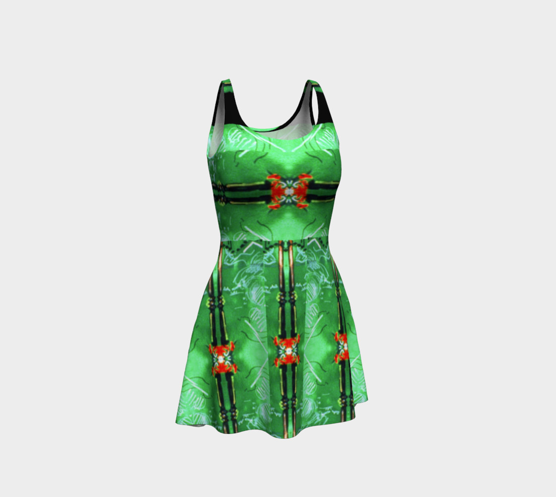Aperçu de Emerald City Girl Red-Bow Party Dress  #1