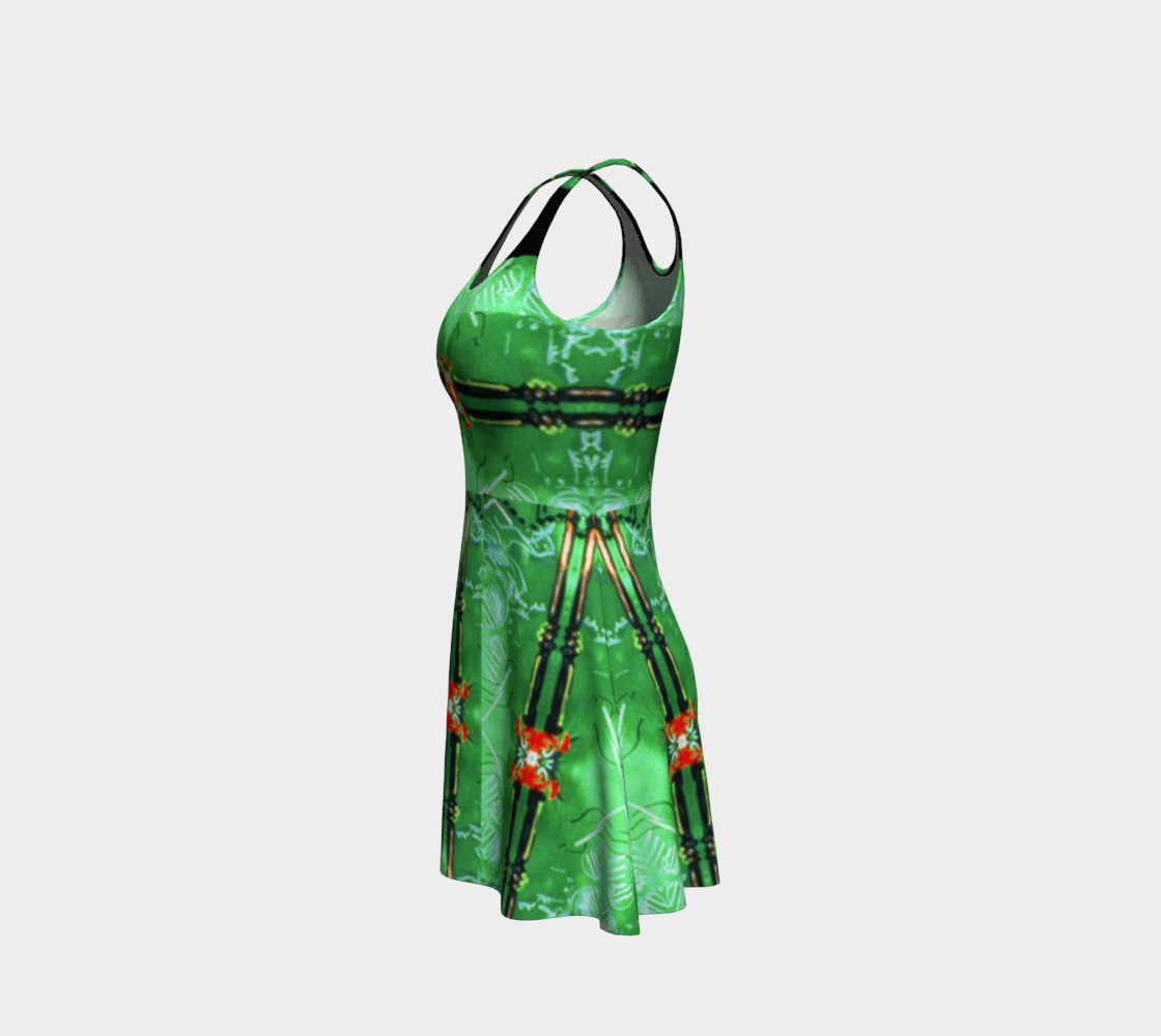 Aperçu de Emerald City Girl Red-Bow Party Dress  #2