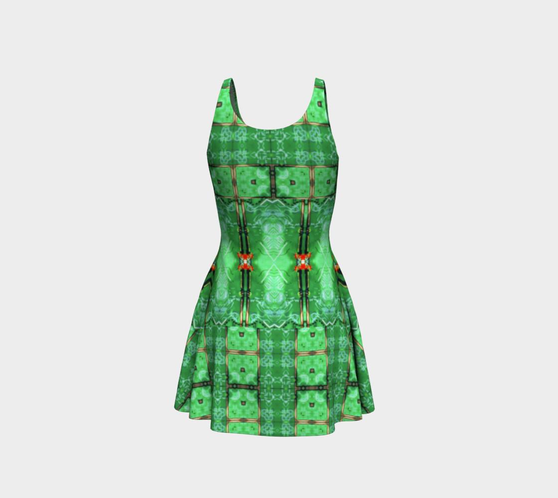 Aperçu de Emerald City Girl Virtual-Corset Dress #3