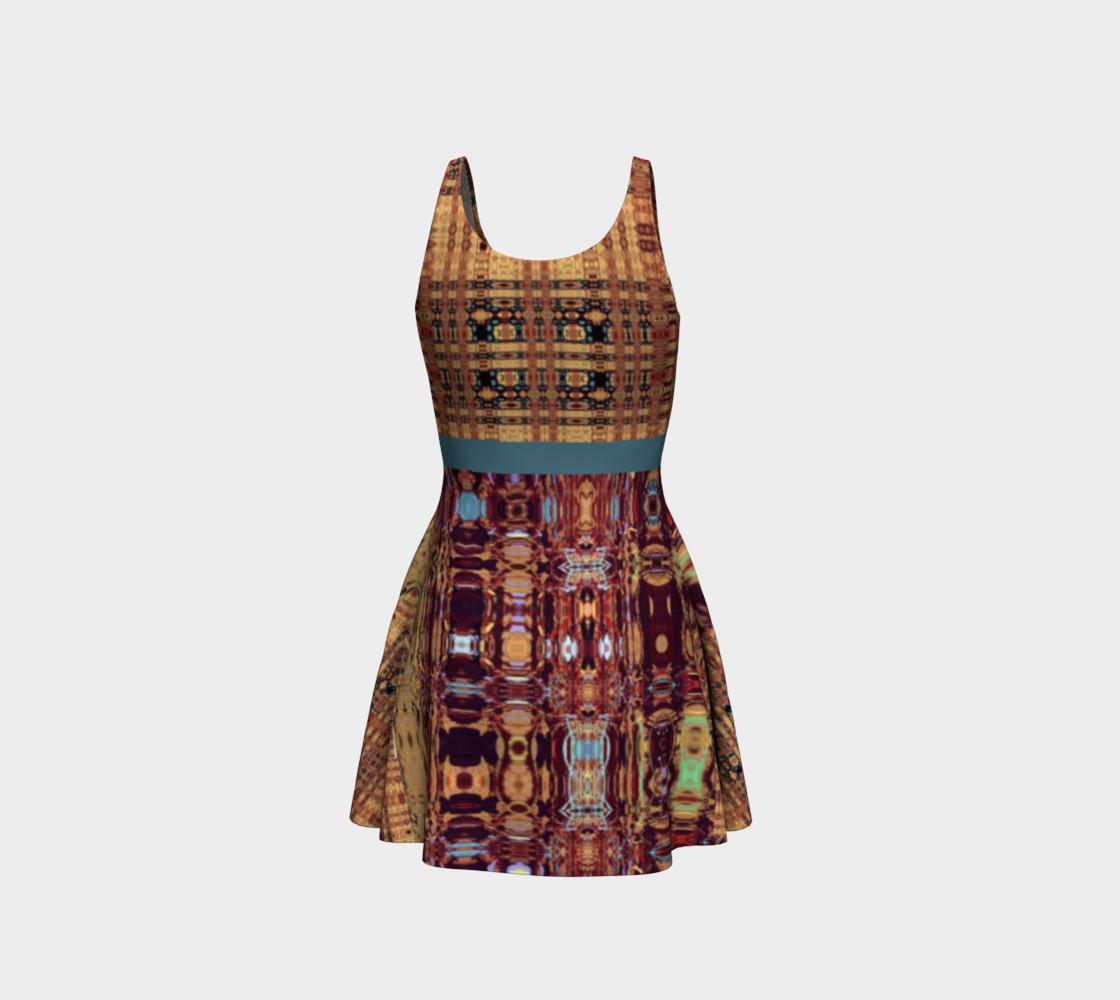 Aperçu de King Leo Multi-Virtual Weave Flare Dress #3