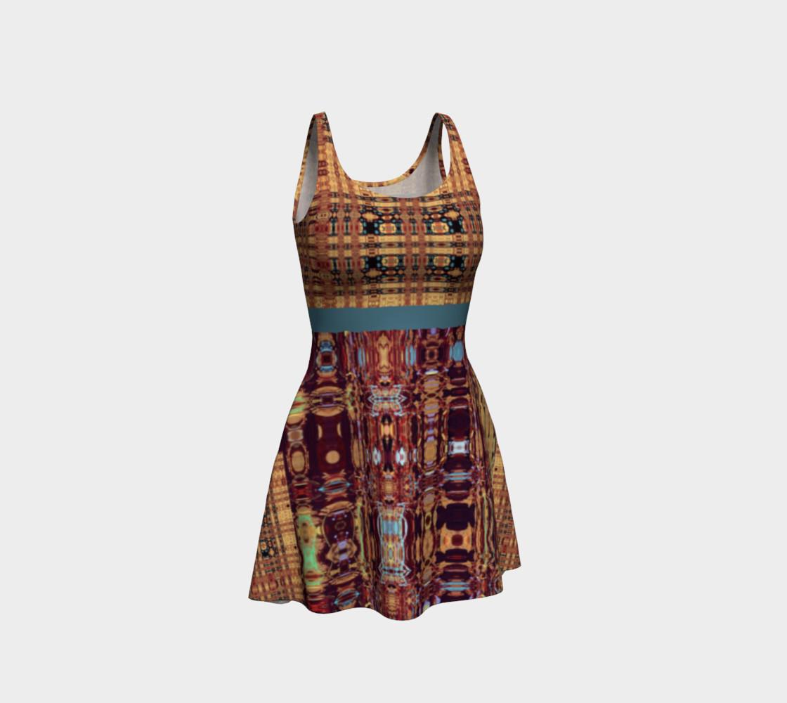 Aperçu de King Leo Multi-Virtual Weave Flare Dress #1