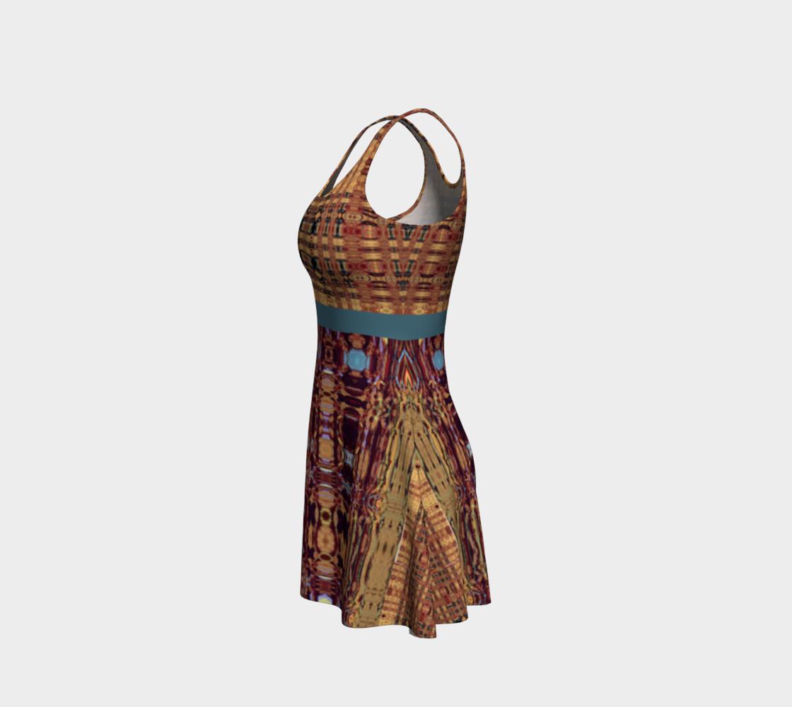 Aperçu de King Leo Multi-Virtual Weave Flare Dress #2