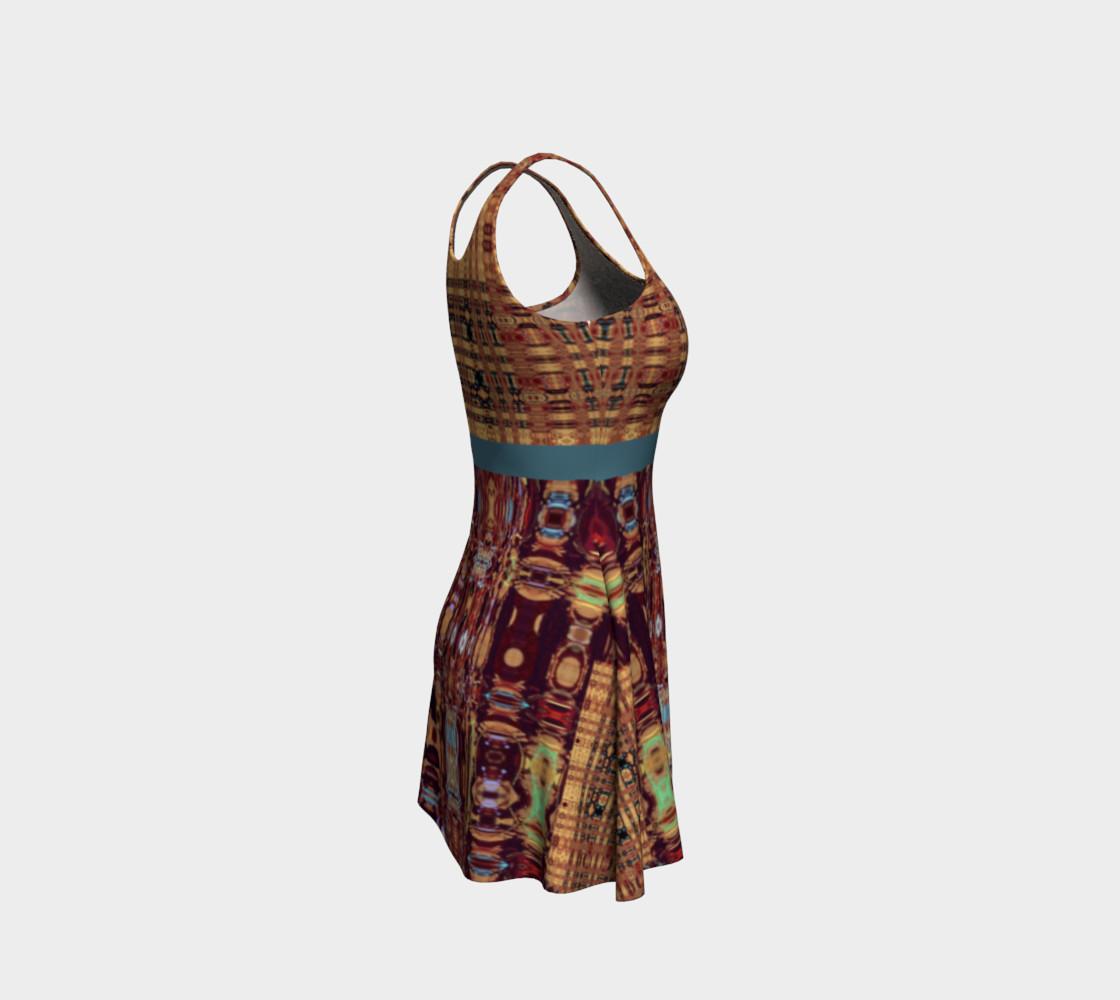 Aperçu de King Leo Multi-Virtual Weave Flare Dress #4