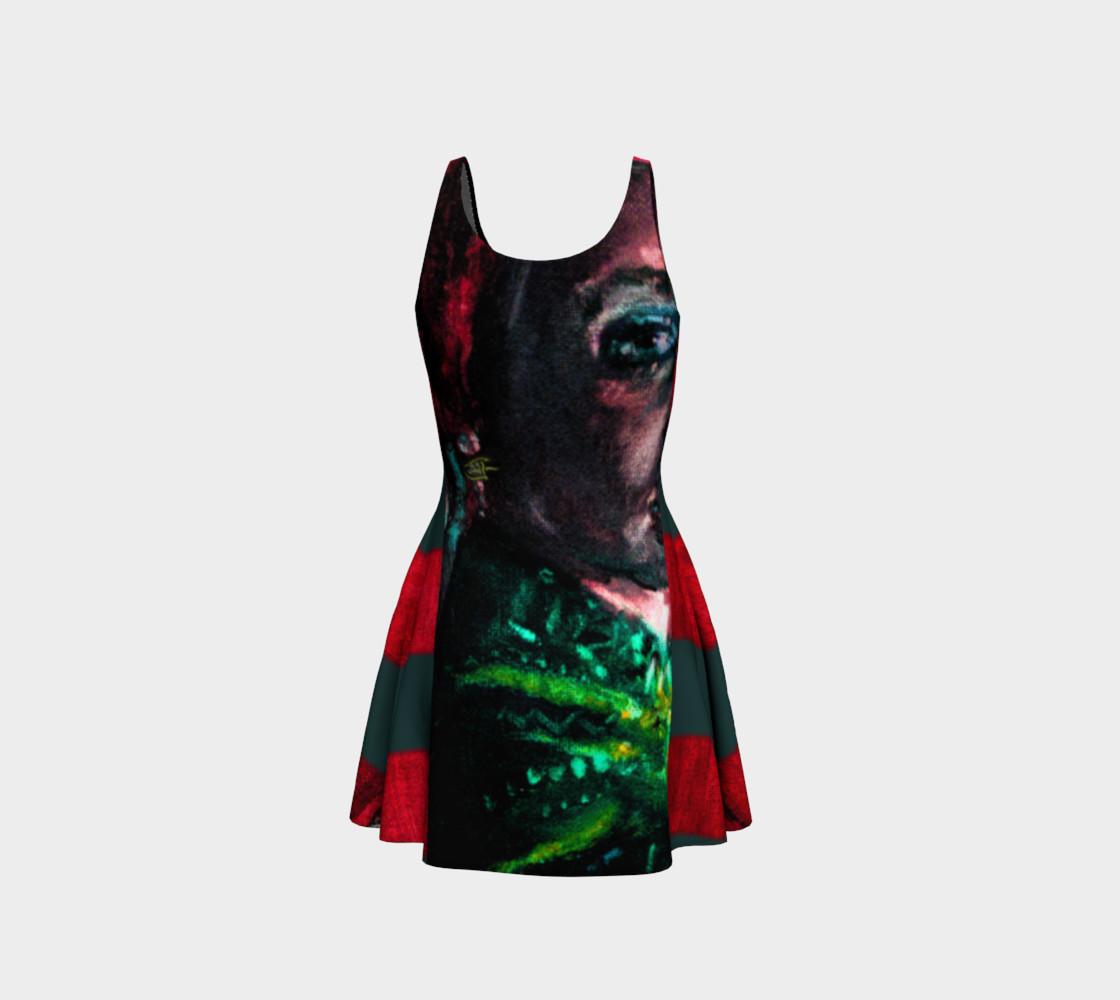 Aperçu de Girl with the Devin Earring Hypnotic-Eye Dress #3