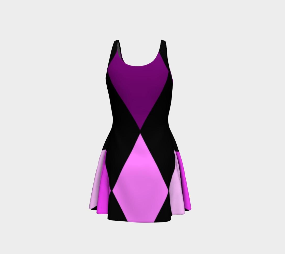 Purple Fade Harlequin Circus Diamonds preview #3