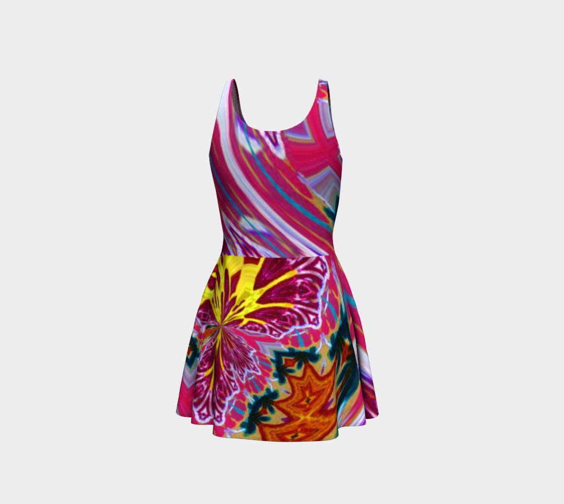 Aperçu de Newport Festive-Flow Candy Flare Dress #3