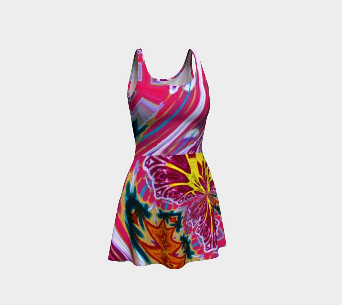 Aperçu de Newport Festive-Flow Candy Flare Dress #1