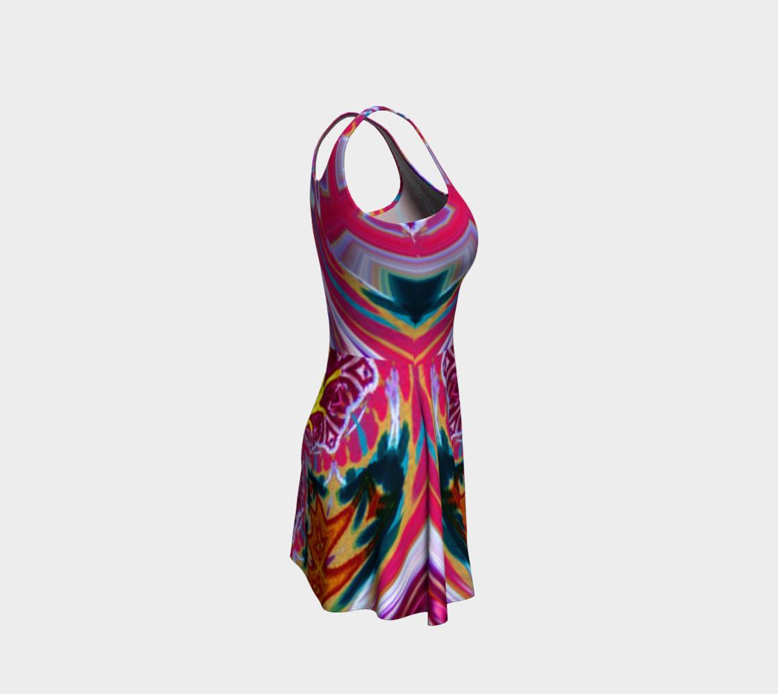Aperçu de Newport Festive-Flow Candy Flare Dress #4