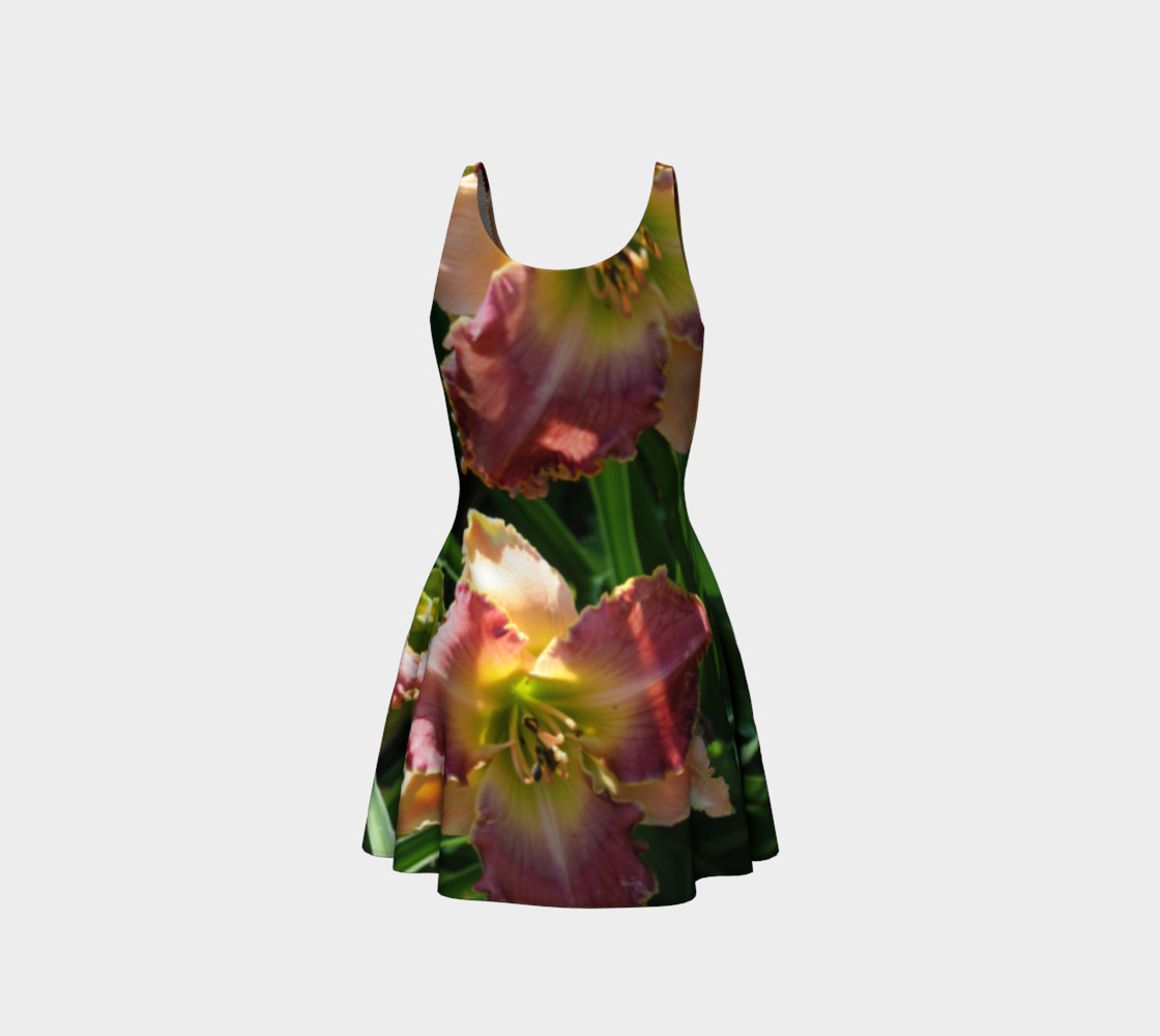 daylilies flare dress preview #3