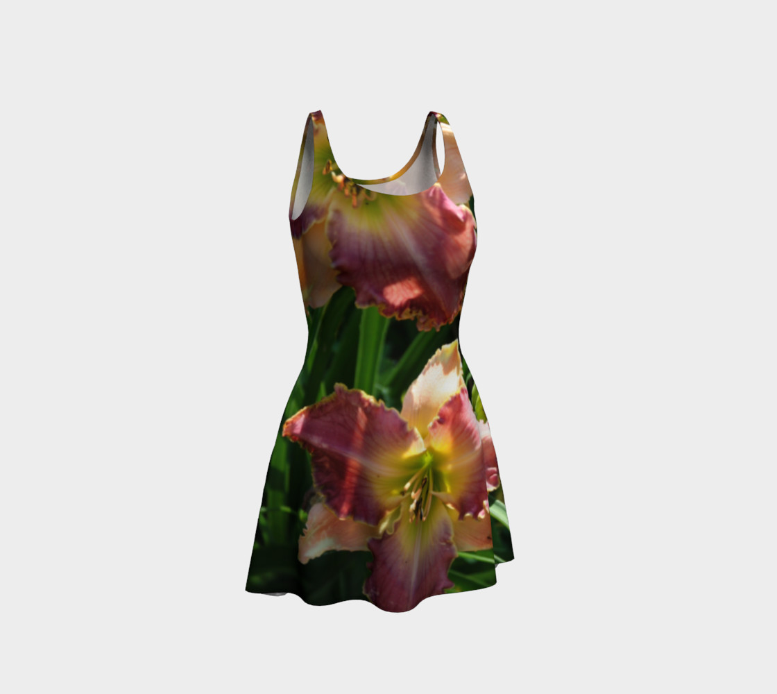 daylilies flare dress preview #1