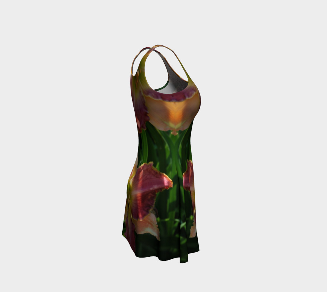 daylilies flare dress preview #4
