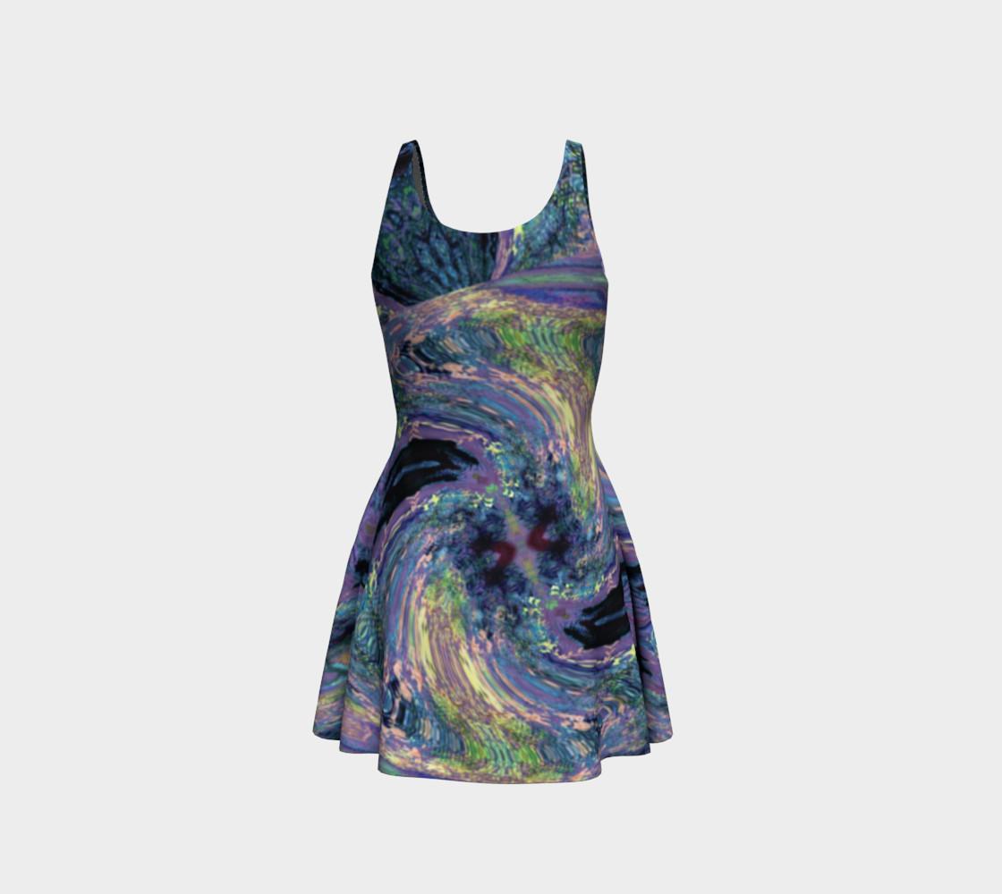Aperçu de Tuscany Harvest / Vincenté Swirl Flare Dress #3