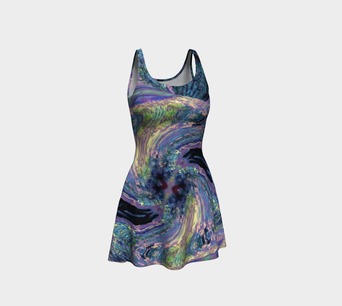 Aperçu de Tuscany Harvest / Vincenté Swirl Flare Dress #1