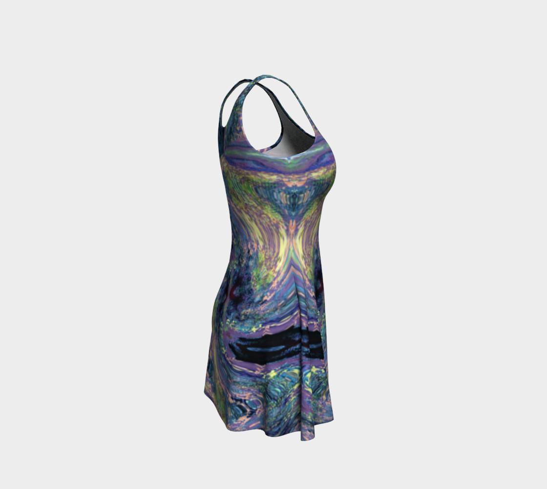 Aperçu de Tuscany Harvest / Vincenté Swirl Flare Dress #4