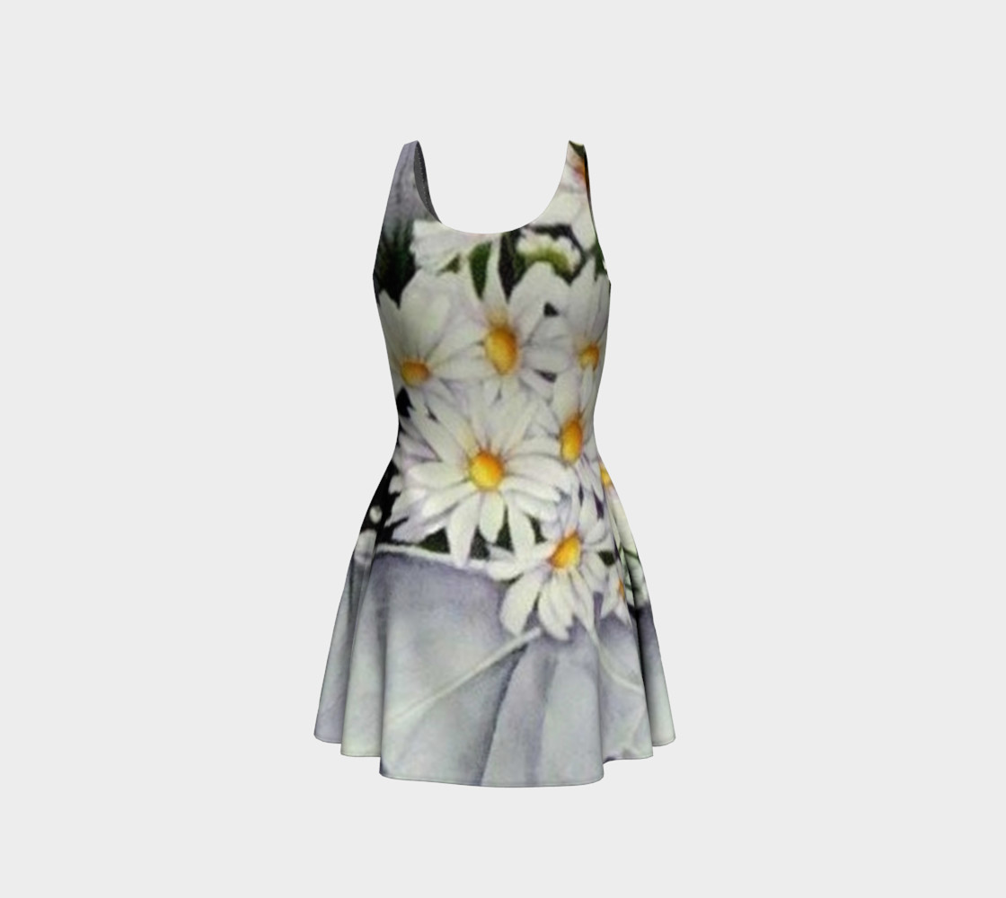 Daisy Bouquet Flare Dress preview #3