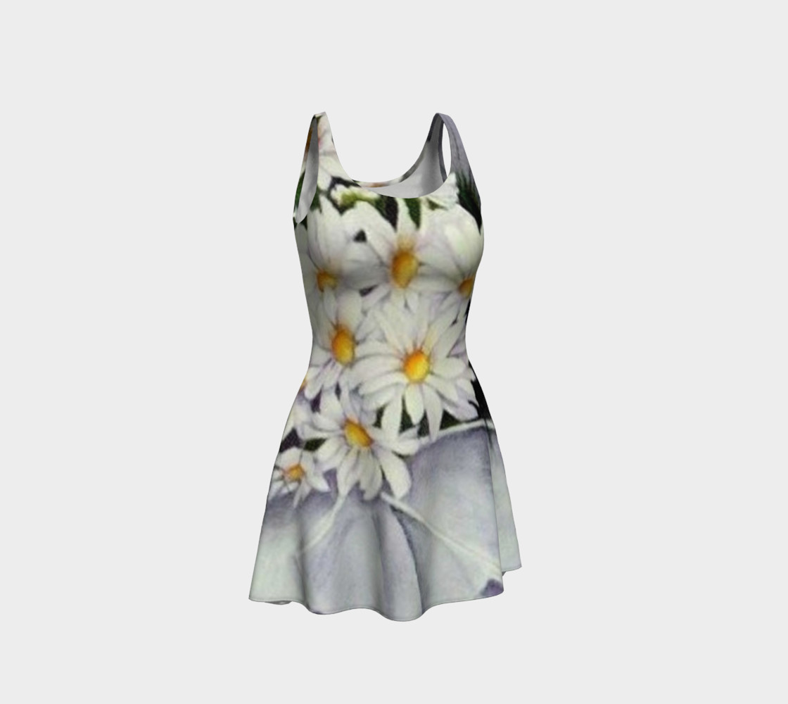 Daisy Bouquet Flare Dress preview #1