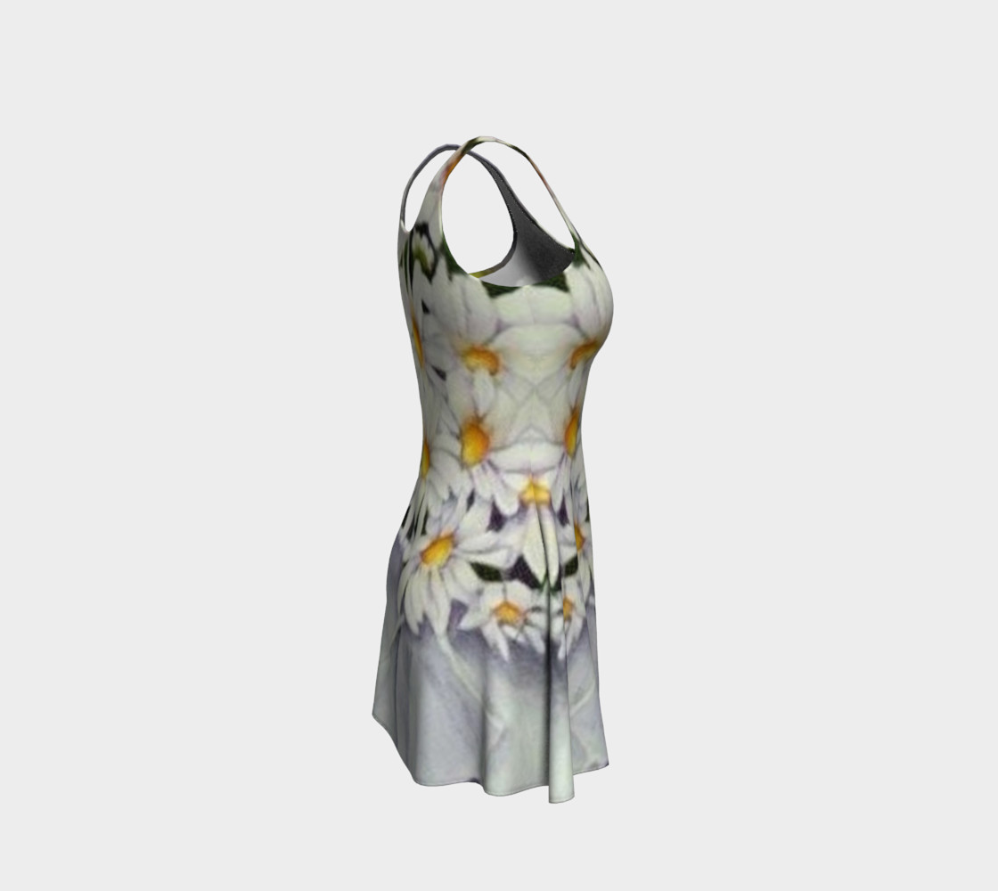 Daisy Bouquet Flare Dress preview #4