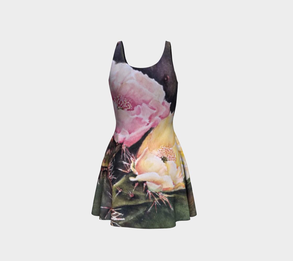 Desert Cactus Flare Dress preview #3