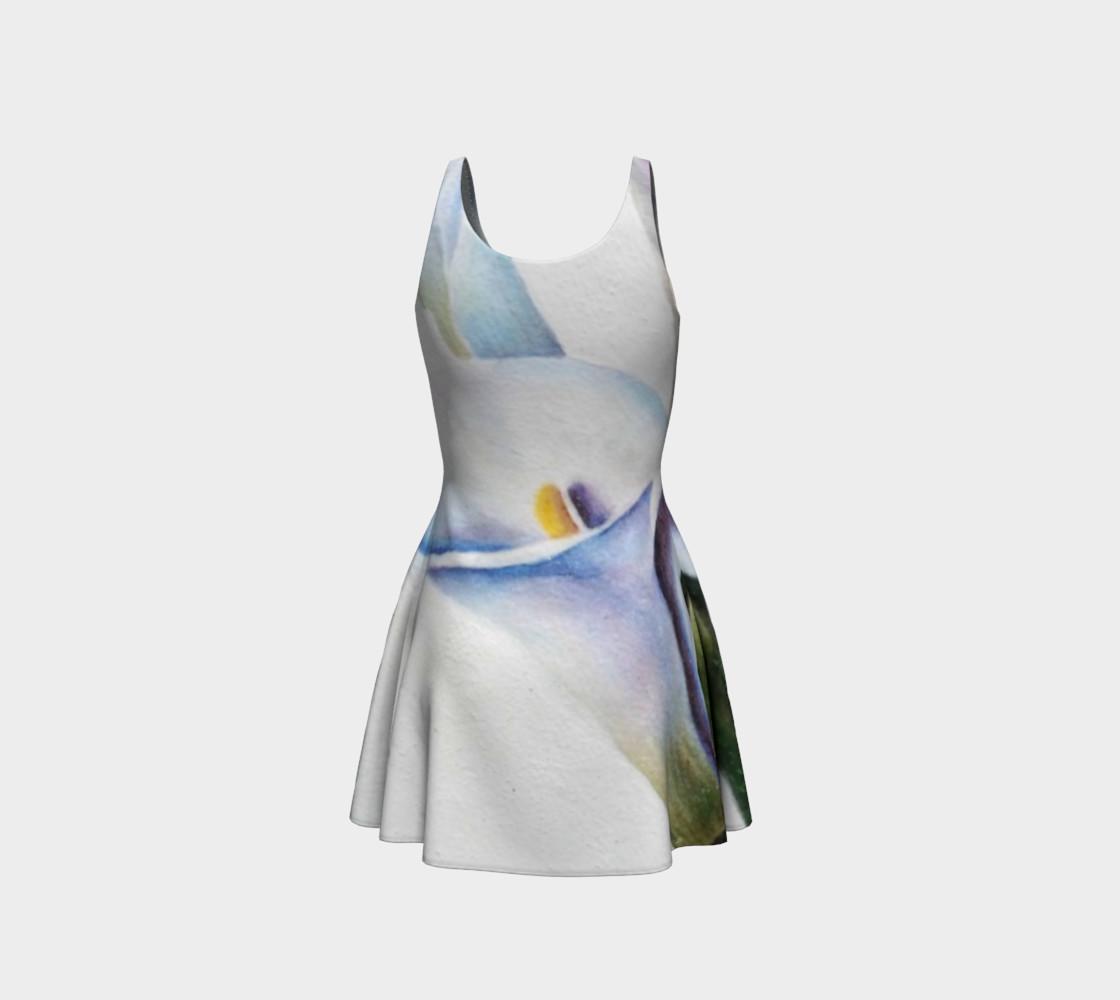 Calla Lily Flare Dress preview #3