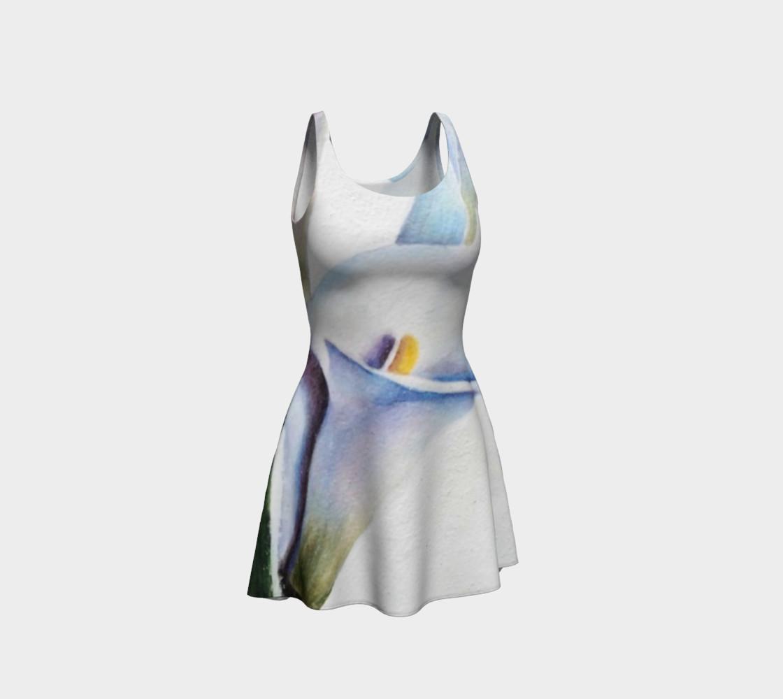 Calla Lily Flare Dress preview #1