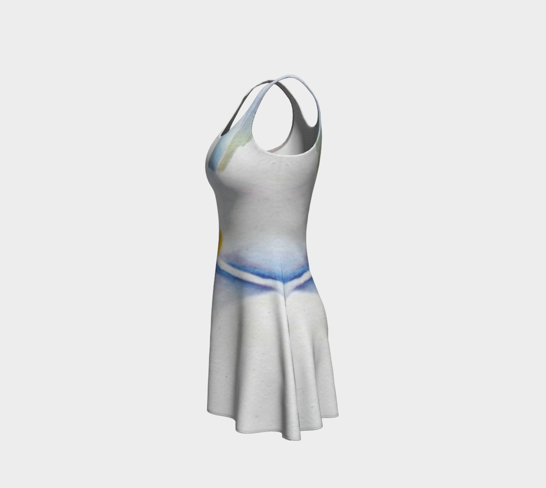 Calla Lily Flare Dress preview #2