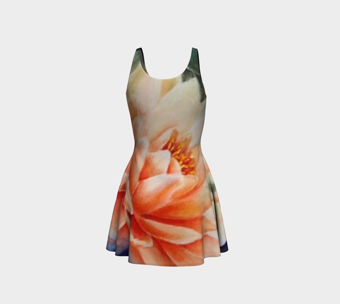 Waterlily 2 Flare Dress preview #3