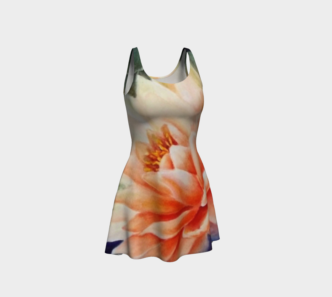 Waterlily 2 Flare Dress preview #1