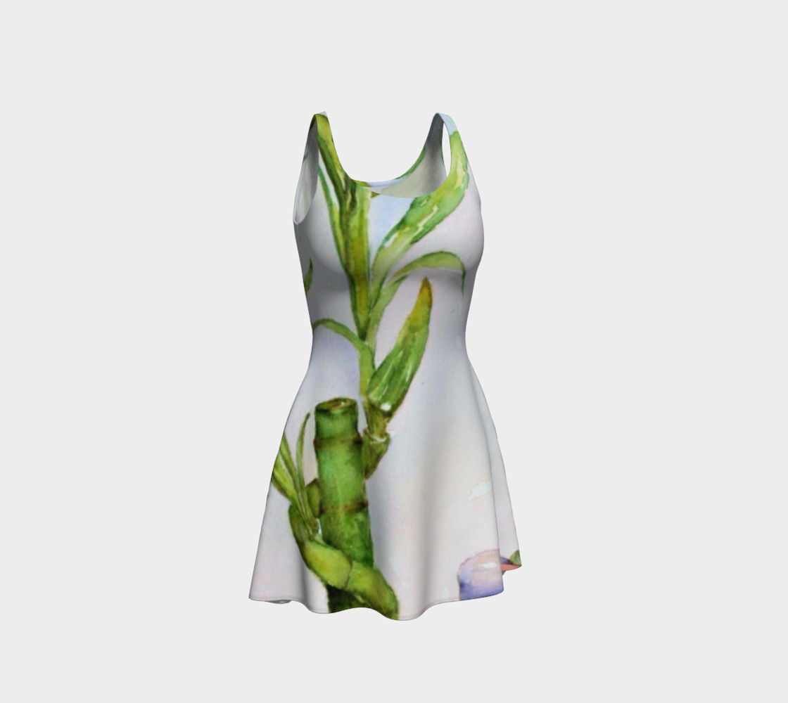 Lucky Bamboo Flare Dress preview #1