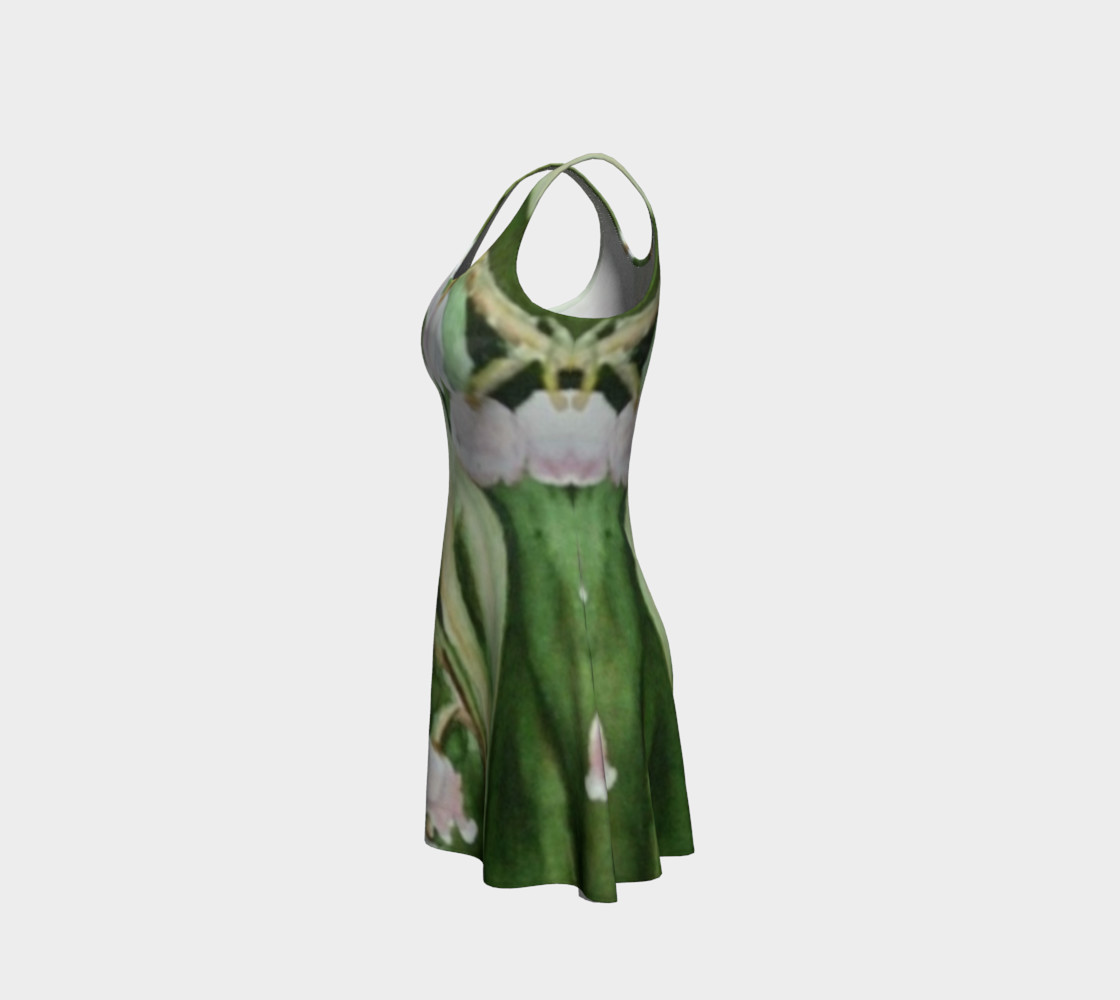 Valley Fronds Flare Dress preview #2