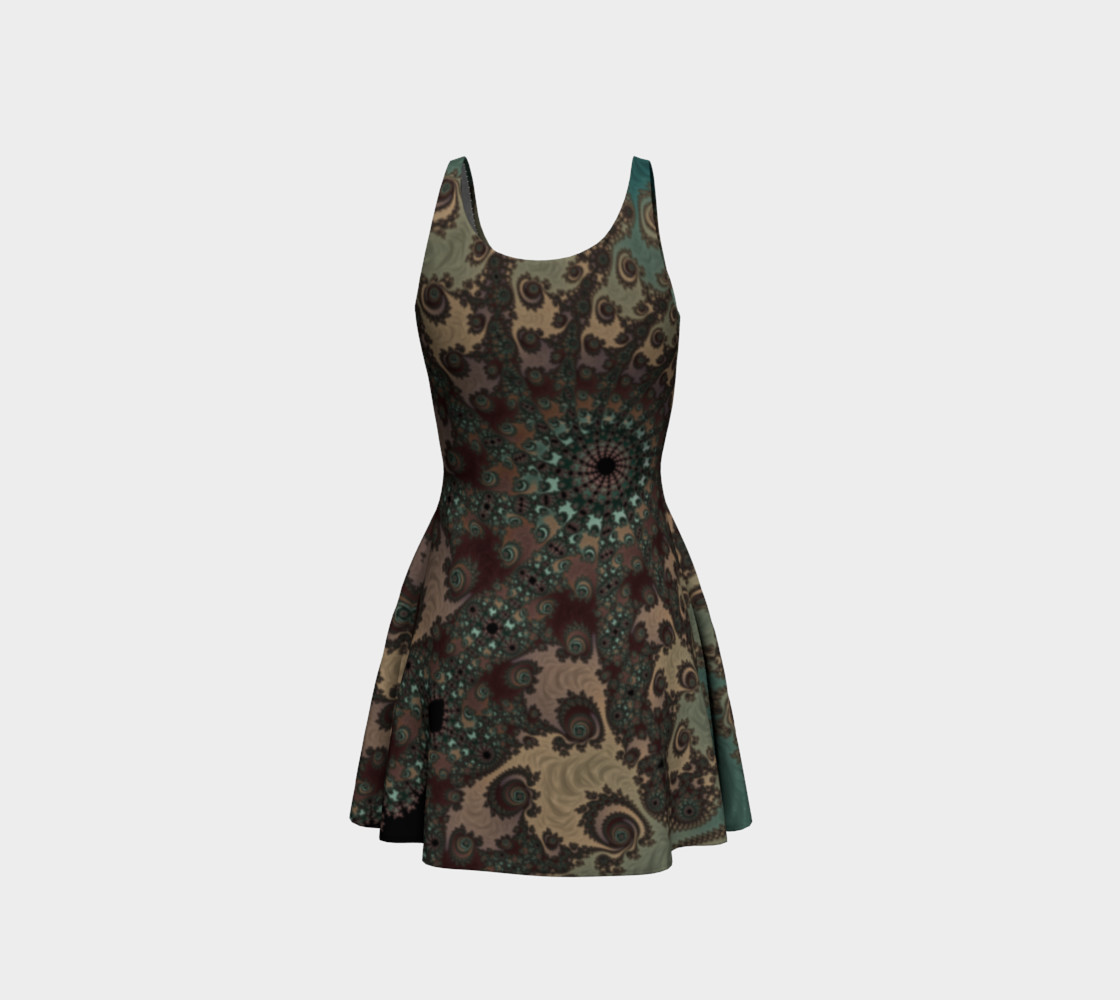 Bohemian Fantasy Flare Dress preview #3