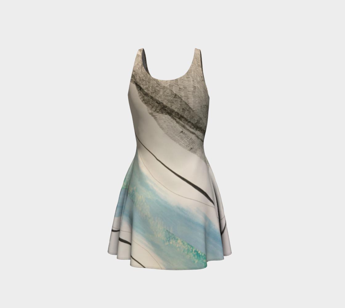 ocean current dress preview #3