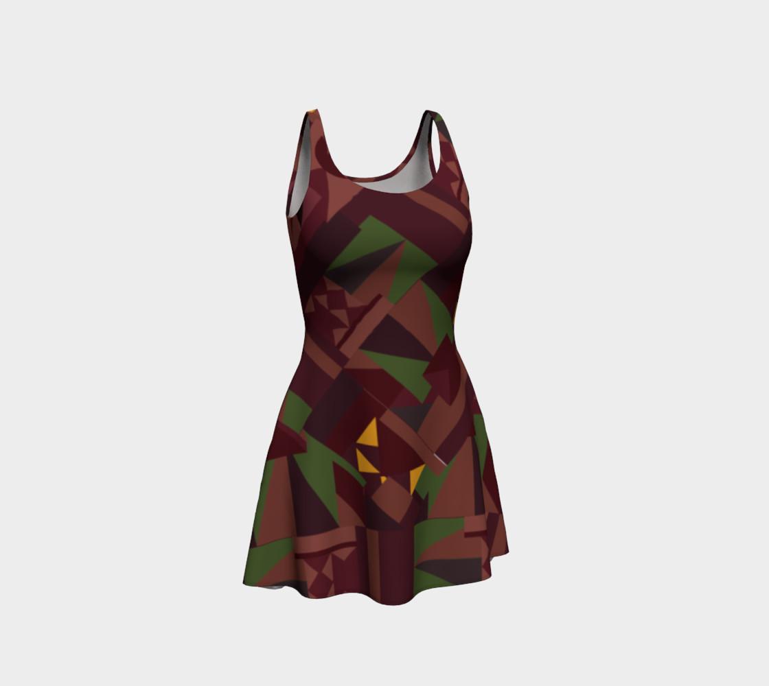 Tiki Inspired Pattern Dress preview #1