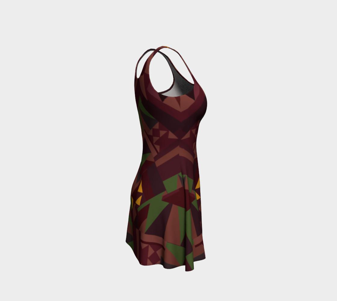 Tiki Inspired Pattern Dress preview #4