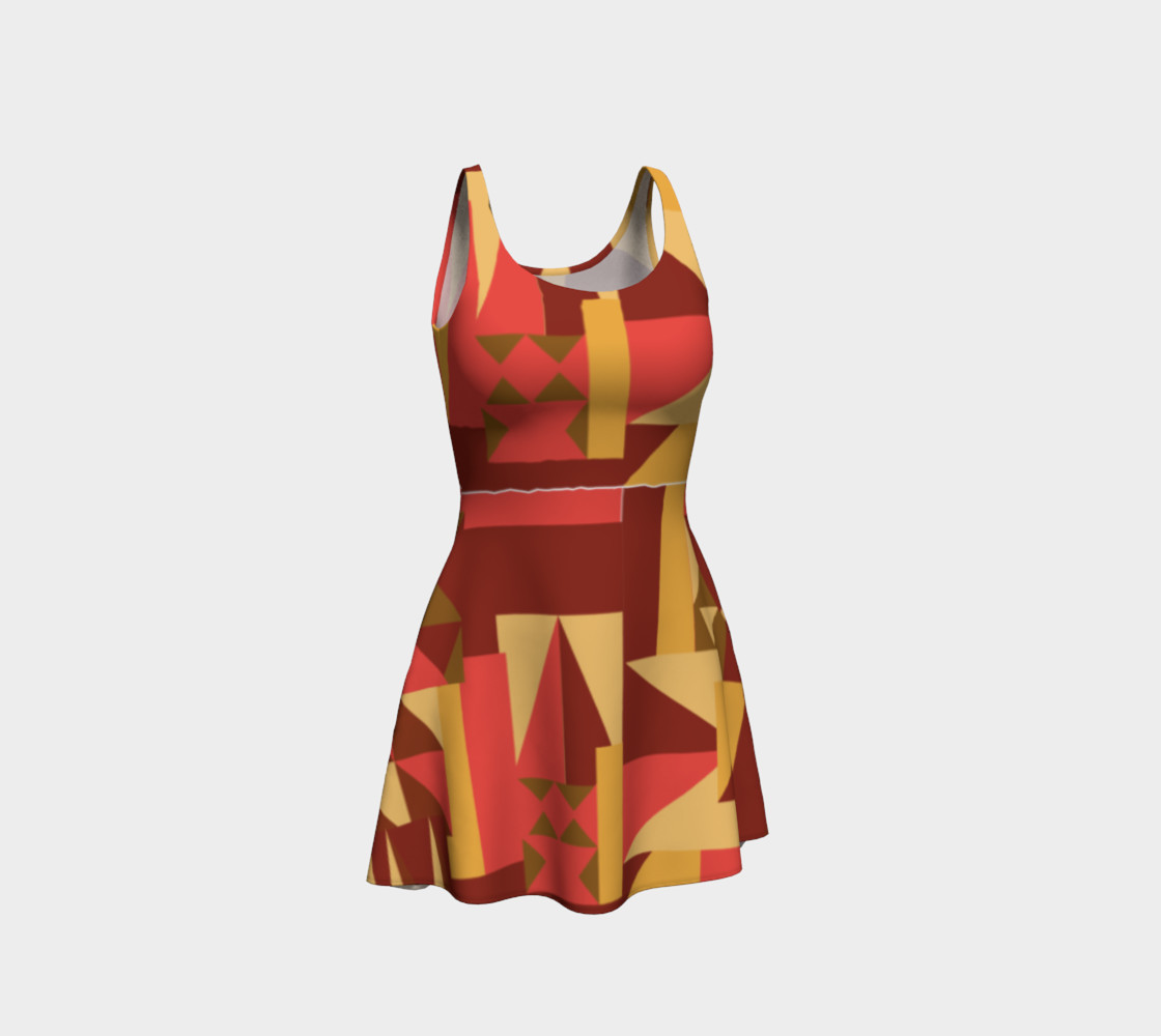 Bold Tribal Inspired Dress preview #1