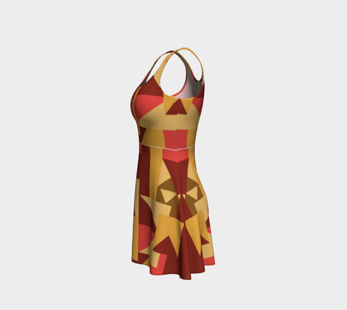 Bold Tribal Inspired Dress preview #2