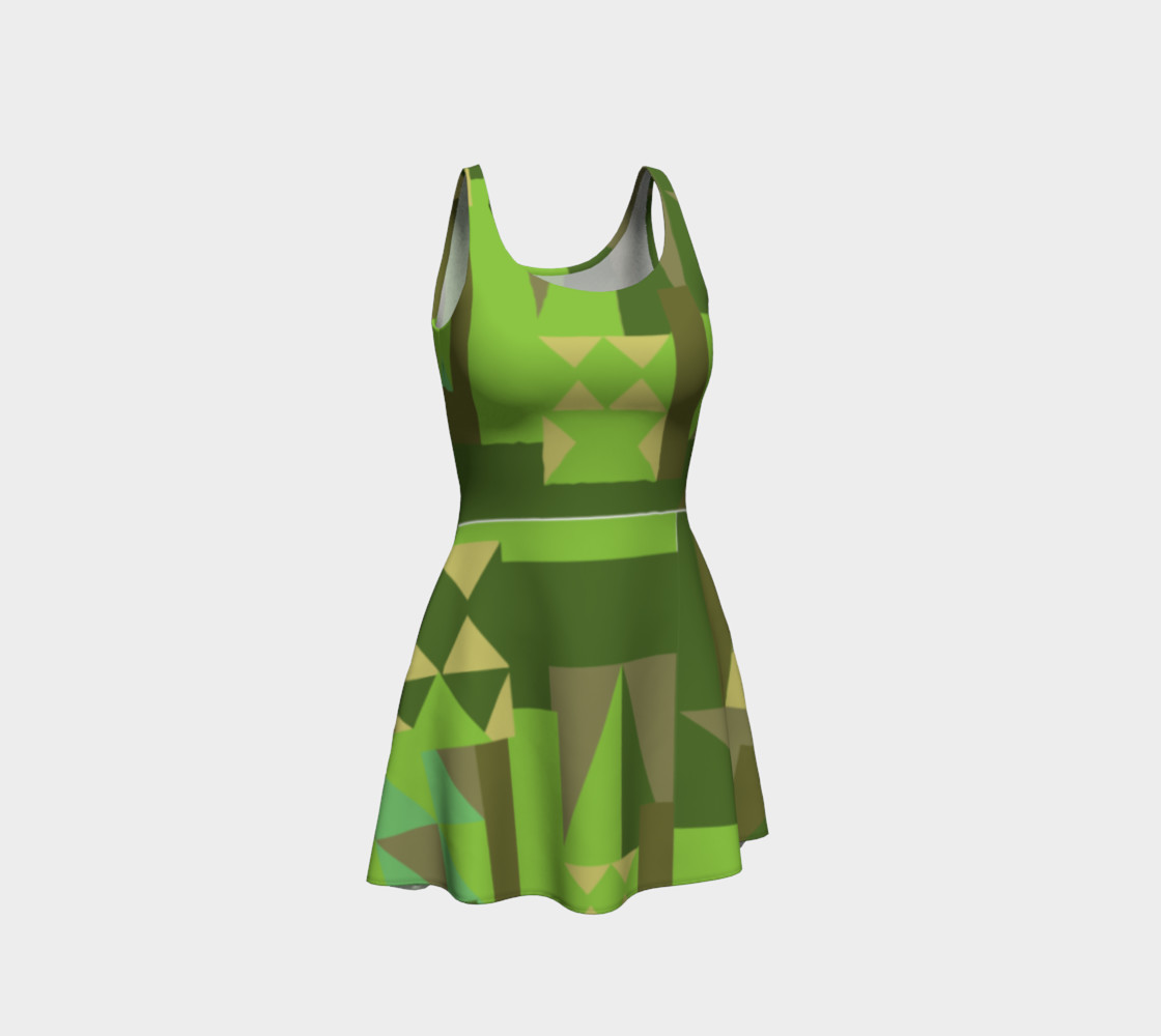 Green Scene Dress preview #1
