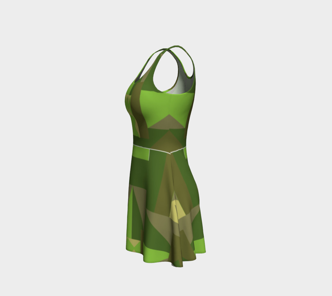 Green Scene Dress preview #2