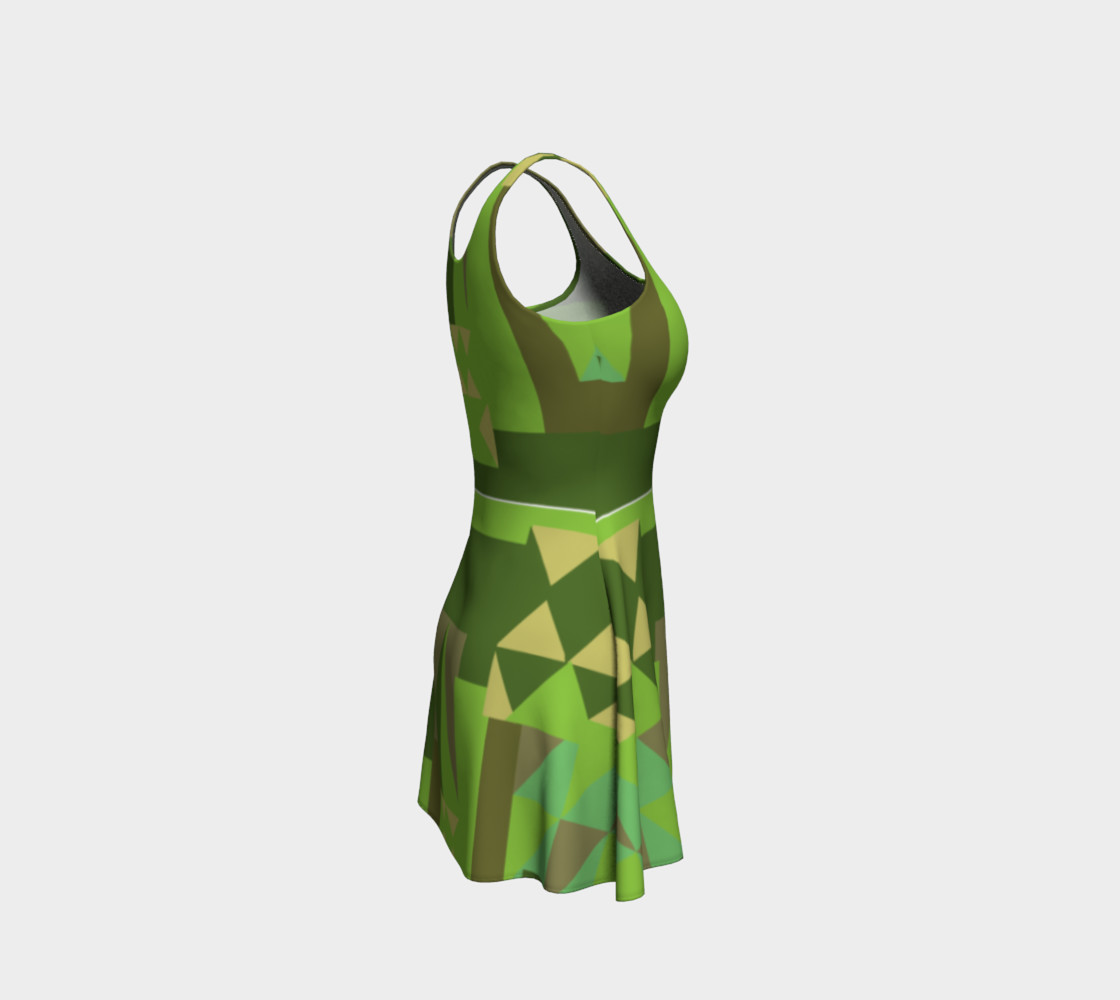 Green Scene Dress preview #4