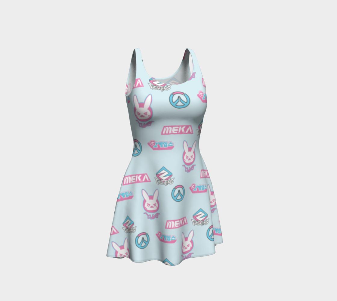 Overwatch D.Va kawaii dress preview #1