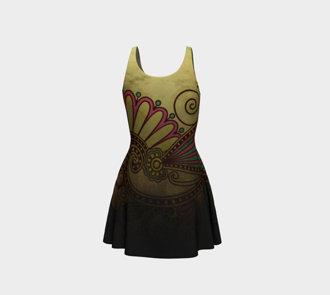 Aperçu de Grunge Flower Dress #3