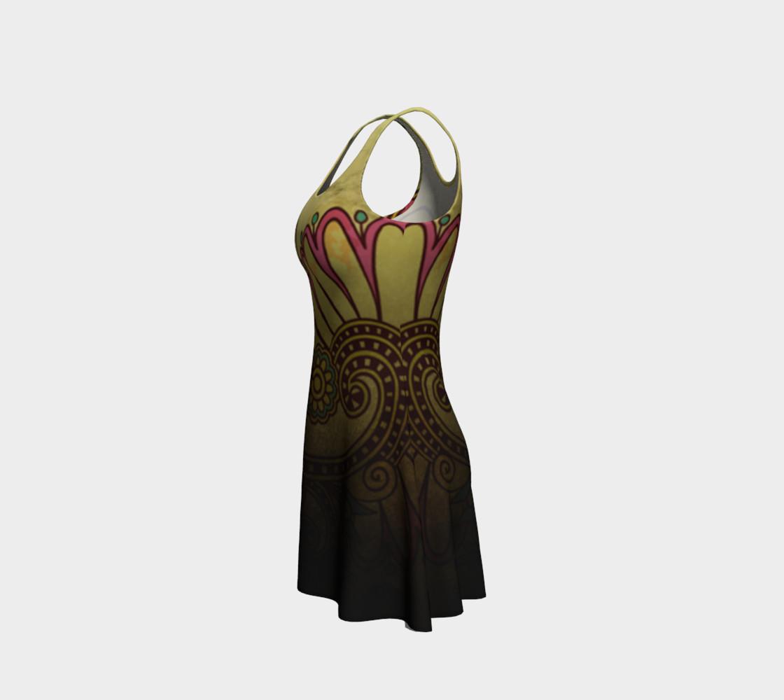 Aperçu de Grunge Flower Dress #2