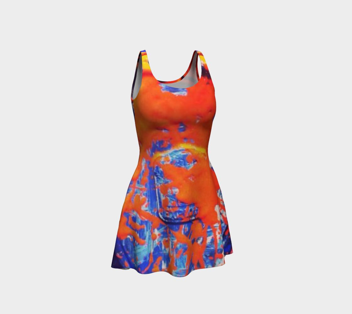 Abstract Orange Splash preview #1