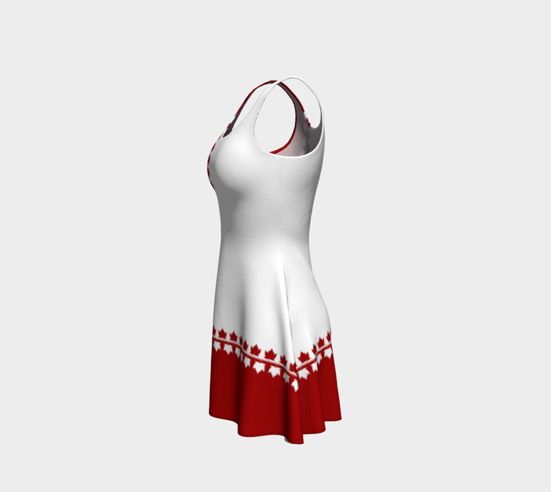 Canada Souvenir Dress Classic Flared Canada Dress preview #2