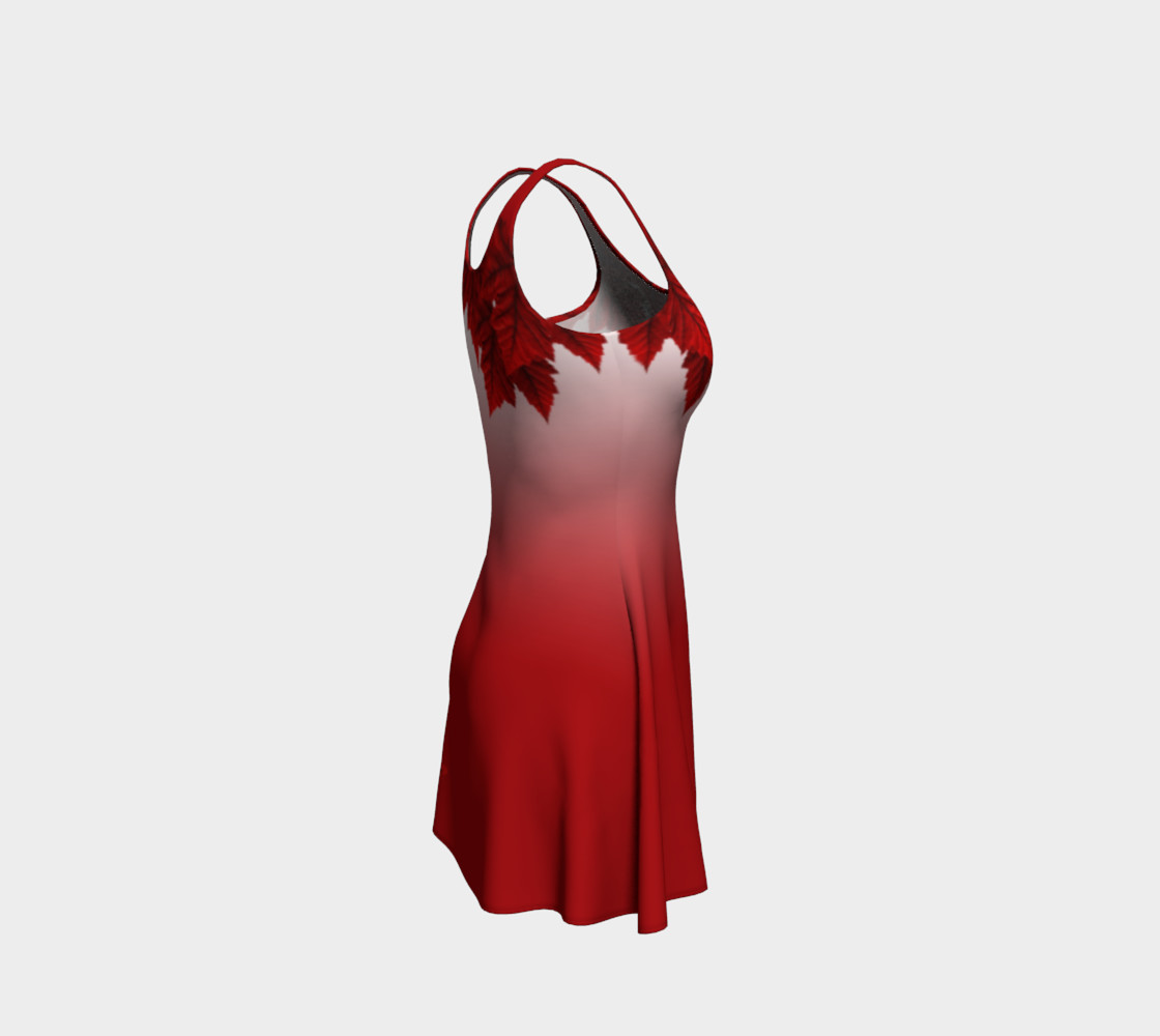 Red Maple Leaf Dress Beautiful Canada Dresses preview #4