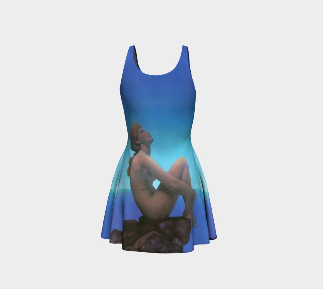 Aperçu de Maxfield Parrish Stars Flare Dress #3